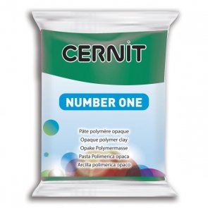 CERNIT Polymer Clay / 56 g / Emerald green
