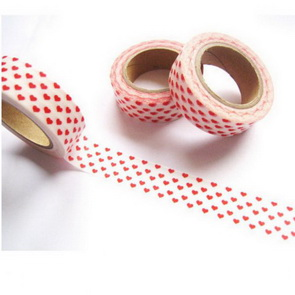 Washi Tape / Red Hearts