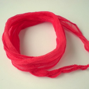 Silk String / Thin / Red