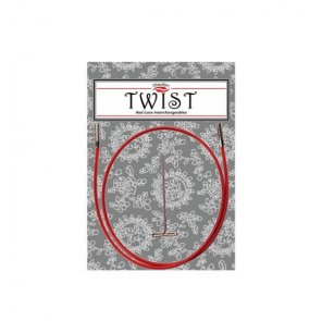 Red Cable SMALL / ChiaoGoo TWIST/ 75 cm