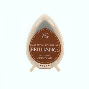 Brilliance Ink Pad / Pearlescent Chocolate