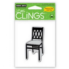 Cling razítko Hero Arts / Lattice Chair