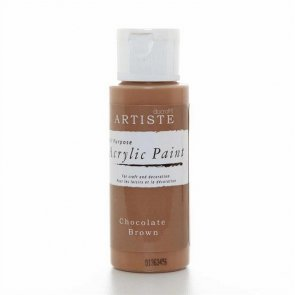 Artiste Acrylic Paint / Chocolate Brown