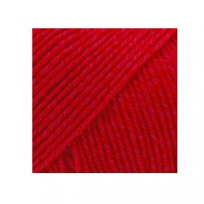 Cotton Merino Uni Colour / Drops / 06 Červená