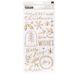 Samolepky Crate Paper / Merry Days