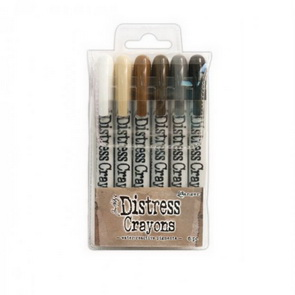 Distress Crayons Tim Holtz / Sada 3