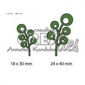 Metal Cutting Dies by Crealies / Leaves 6