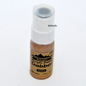 Acrylic Paint - Dabber / Gold