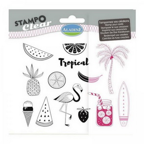 Aladine Silicone Stamp Set / Tropical