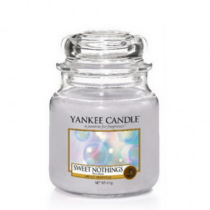 Classic Yankee Candle / střední / Sweet Nothings