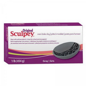 Original Sculpey / 454 g / Grey