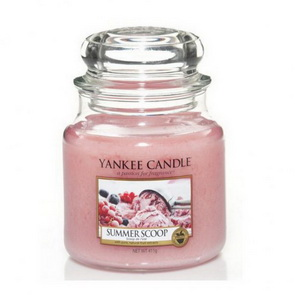 Classic Yankee Candle / střední / Summer Scoop