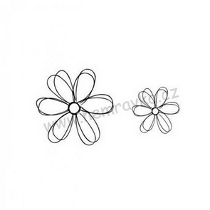 Silicone stamps by Nemravka / Doodling Flowers