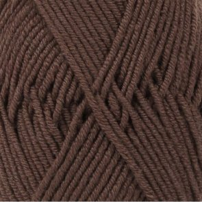 Merino Extra Fine Uni Colour / Drops / 09 Brown Dark