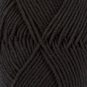 Merino Extra Fine Uni Colour / Drops / 02 Black