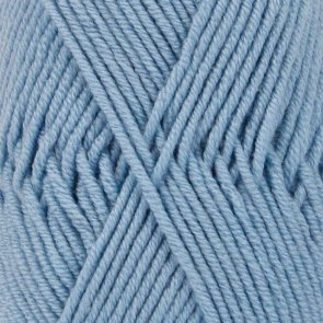 Merino Extra Fine Uni Colour / Drops / 19 Light Grey Blue