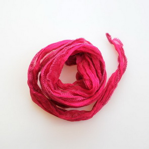 Silk String / Thin / Dark Pink