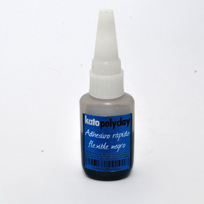 Quick-Drying Adhesive / Black