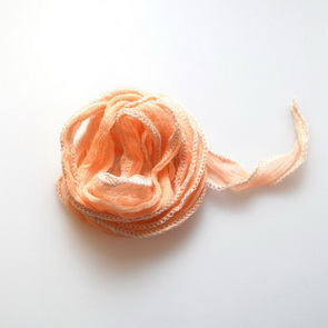 Silk String / Thin / Peach
