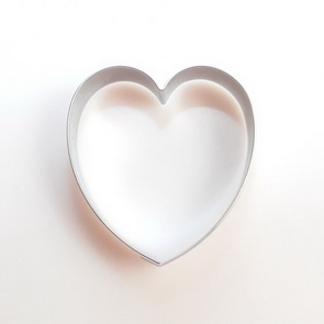 Clay Cutter / Round Heart