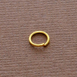 Jumpring / 100 pieces / 6 mm / Gold