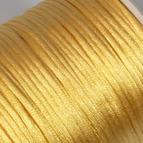Satin Cord / 2 mm / Goldish
