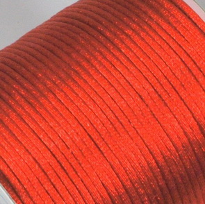 Satin Cord / 2 mm / Red