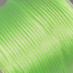 Satin Cord / 2 mm / Lime