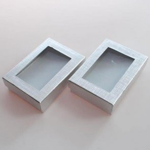 Gift Box / 2 pieces / Silver