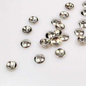 Bead Cap – Round / 50 pieces / 10 mm / Antiqued Silver
