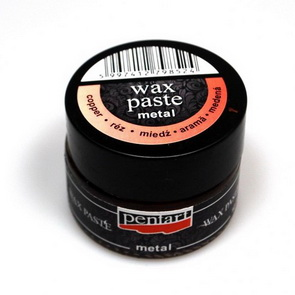 Metal Wax Paste 20 ml / Copper
