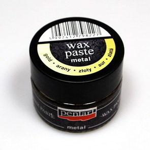 Metal Wax Paste 20 ml / Gold