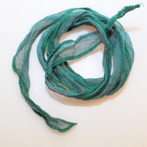 Silk String / Thin / Green