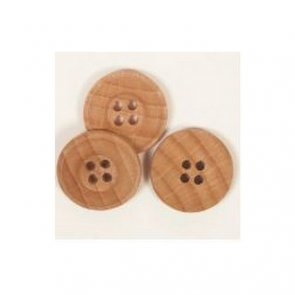 Button Oak / 25 mm