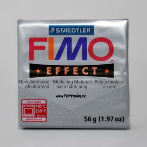 FIMO Effect / Metallic Silver (81)