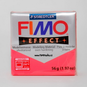 FIMO Effect / Transparent Red (204)