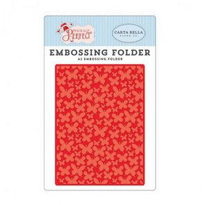 Embossing Folder by Echo Park / Practically Perfect / Mini Butterflies