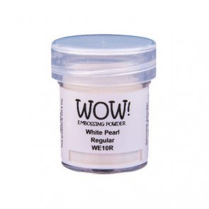 Embossing Powder WOW! / Pearlescent / White Pearl