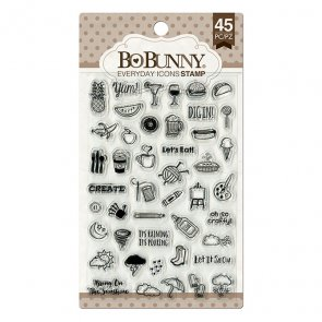 Silicone Stamps Set by BoBunny / Everyday