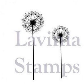 Silicone Stamp by Lavinia / Fairy Dandelions