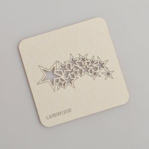 Chipboards LaseroweLove / Le Astre / Falling Stars