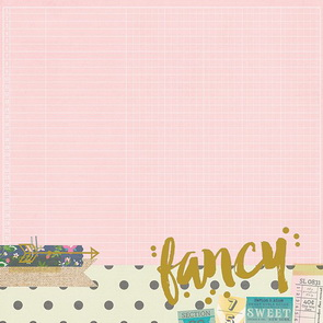Scrapbookový papír Simple Stories / So Fancy / Fancy