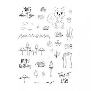 Silicone Stamps by Cut - IES / Forest Fellow / Autumn
