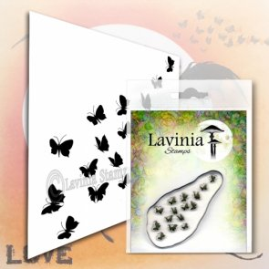 Clear Stamp / Lavinia / Flutterbies