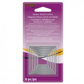 PREMO Metal Cutter Set / Square