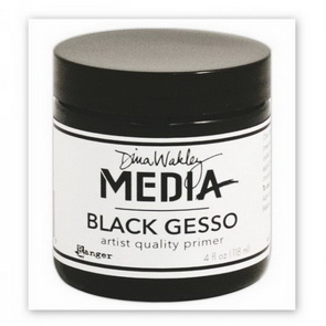 Gesso by Dina Wakley / Black