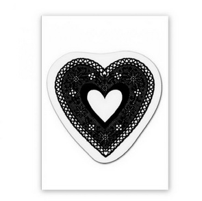 Clear Stamp / Crochet Heart
