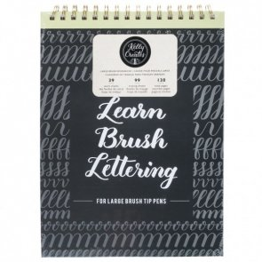 Hand Lettering Book by Kelly Creates / Large Brush
