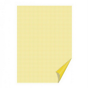 Colored Paper by Heyda / Happy Paper / A4 / Yellow Checked