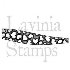 Silicone Stamps by Lavinia / Hill Border Heart